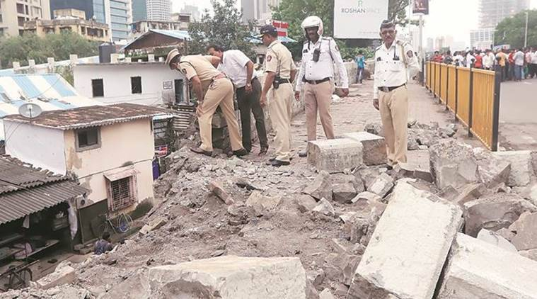 Lower Parel ROB, lower parel road overbridge, mumbai bridge repair, Delisle road overbridge, lower parel, mumbai news, western railway, bmc