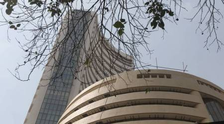 Rupee continues slide to hit record low; Sensex falls 509 pts