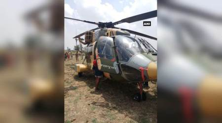 BSF chopper carrying CRPF top brass makes emergency landing in Bihar's Aurangabad