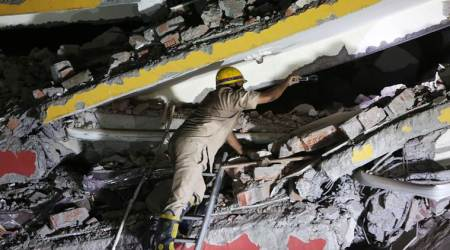 Greater Noida buildings collapse — Builders knowingly used poor quality material:FIR