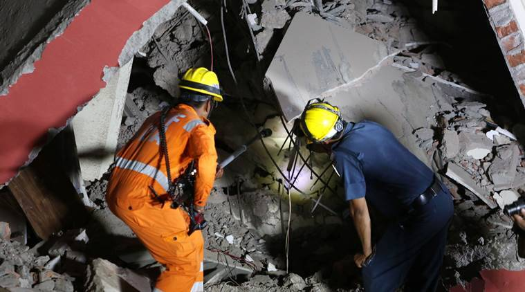 Greater Noida buildings collapse: A race against time — in the dark, then under a harsh sun