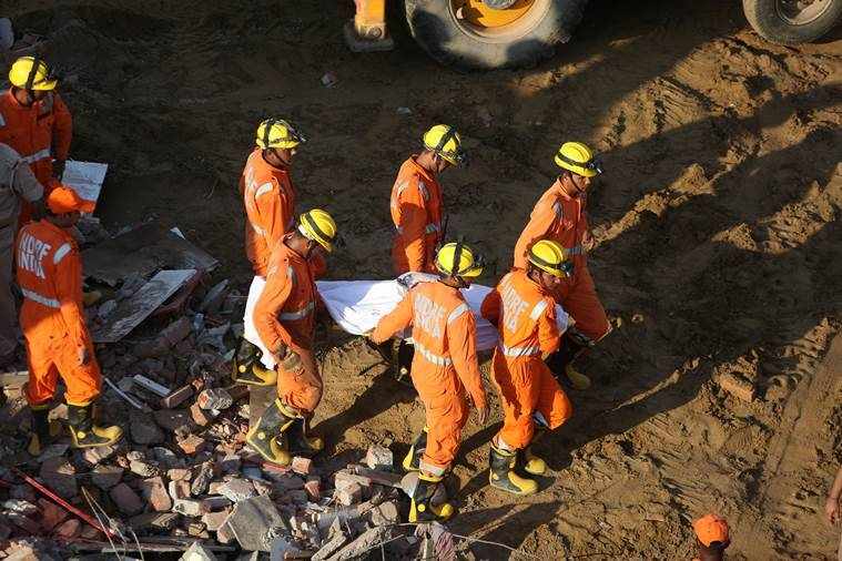 Greater Noida buildings collapse: