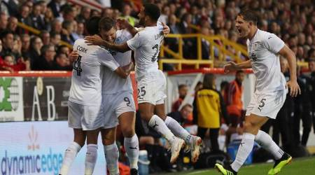 Burnley battle back on their return to European scene