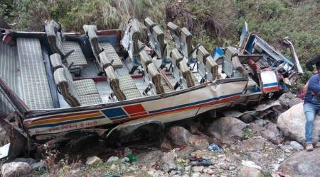 Uttarakhand accident: At least 48 killed as bus falls into a gorge in Pauri district