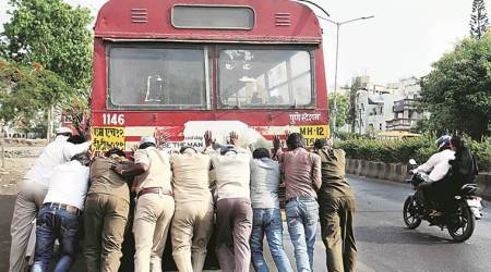 Pune police to PMPML: 'Breakdown of buses causing traffic jams, fix them'