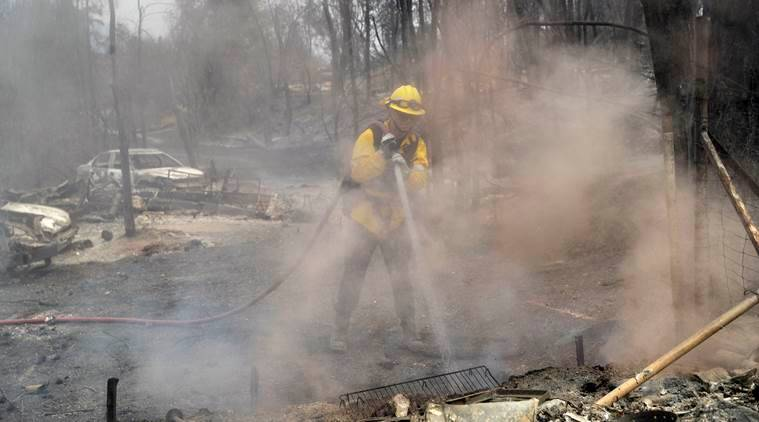 California wildfire, california fire, Redding wildfire, Carr fire, wildfire death toll, Yosemite valley fire, deadly fire, California wildfire claimed 6 lives, World News, Indian Express