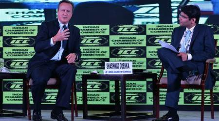 In Kolkata, former British premier David Cameron says 'soft Brexit' likely