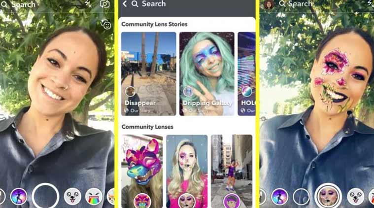 Snapchat introduces Lens Explorer to let users access new