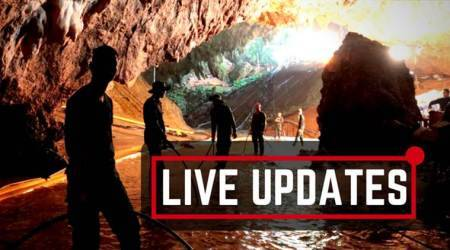 Thai cave rescue LIVE: Rescuers to pull out all five 'at same time' today, heavy rain hinders mission