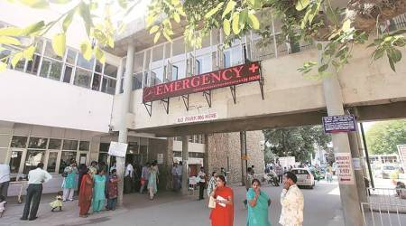 In Sec 45 hospital, staff concerned over proximity of COVID centre to TB clinic