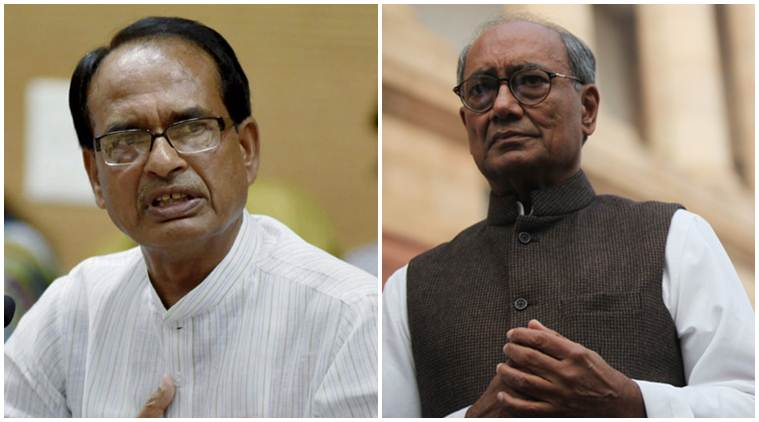 As Shivraj Singh Chouhan calls him 'anti-national' again, Digvijaya Singh presents himself before police