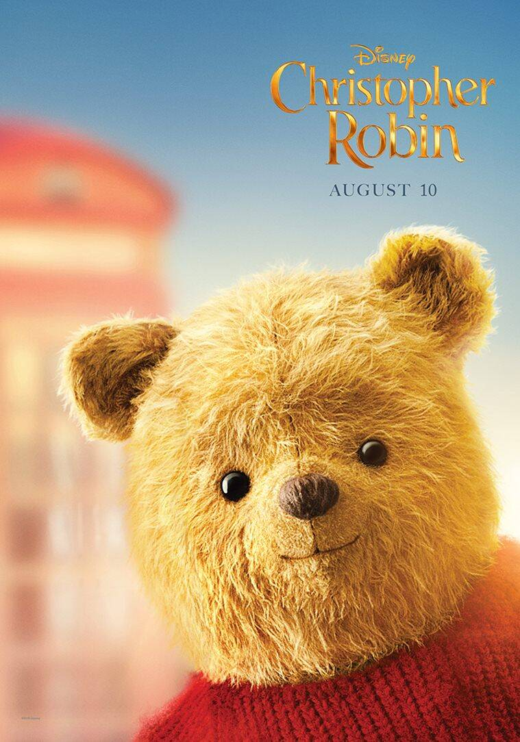 winnie the pooh as seen in christopher robin