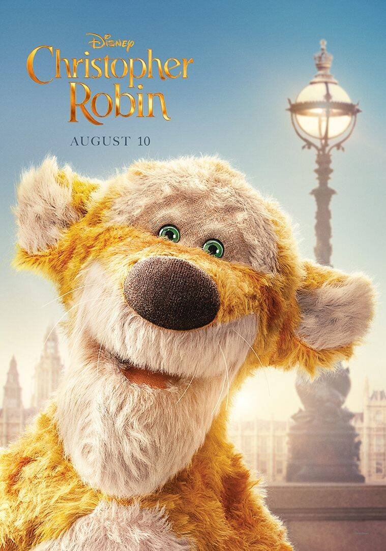 tigger character poster in christopher robin