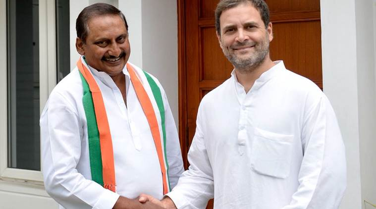 Former Andhra Pradesh CM Kiran Kumar Reddy returns to Congress fold