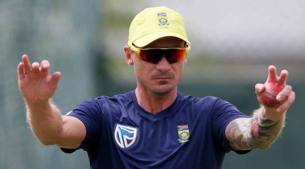 South Africa's fast bowler Dale Steyn stretches during a practice session ahead of their second test cricket match against Sri Lanka