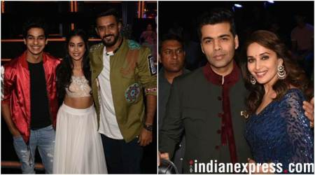 Ishaan Khatter and Janhvi Kapoor bring Zingaat madness to Dance Deewane