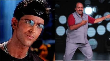 Dancing Uncle Sanjeev Shrivastava dedicates a video to dance king Hrithik Roshan