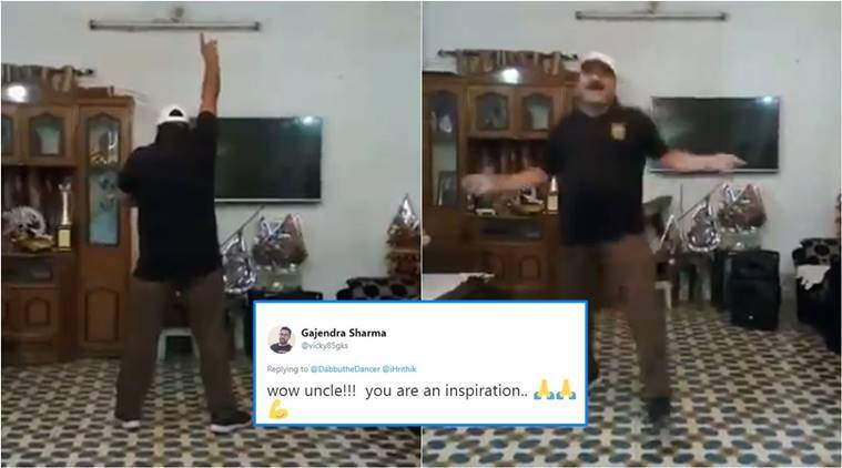 dancing uncle, dancing uncle viral video, Sanjeev Shrivastava, who is dancing uncle,