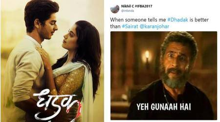 Dhadak movie review: The Janhvi Kapoor-Ishaan Katter film gets trolled with hilarious memes