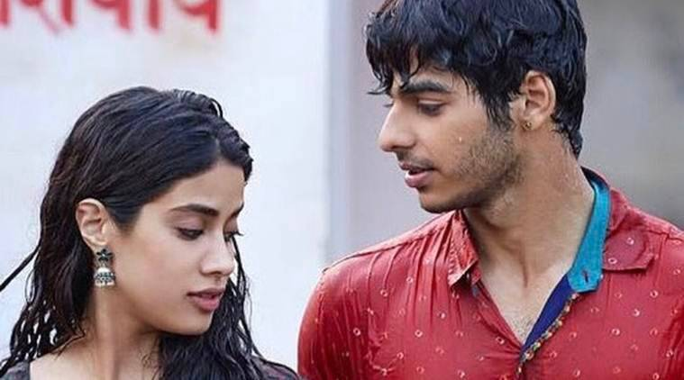 dhadak song pehli baar features janhvi kapoor and ishaan khatter