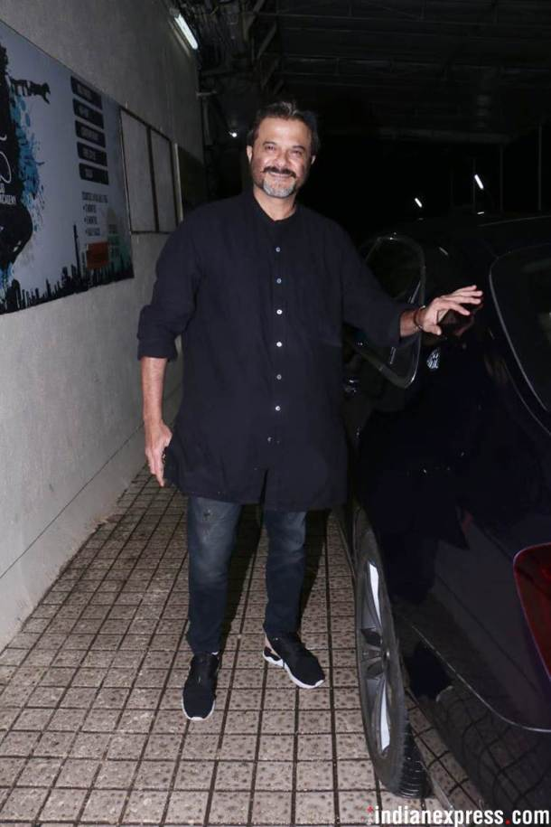 Anil Kapoor at dhadak screening