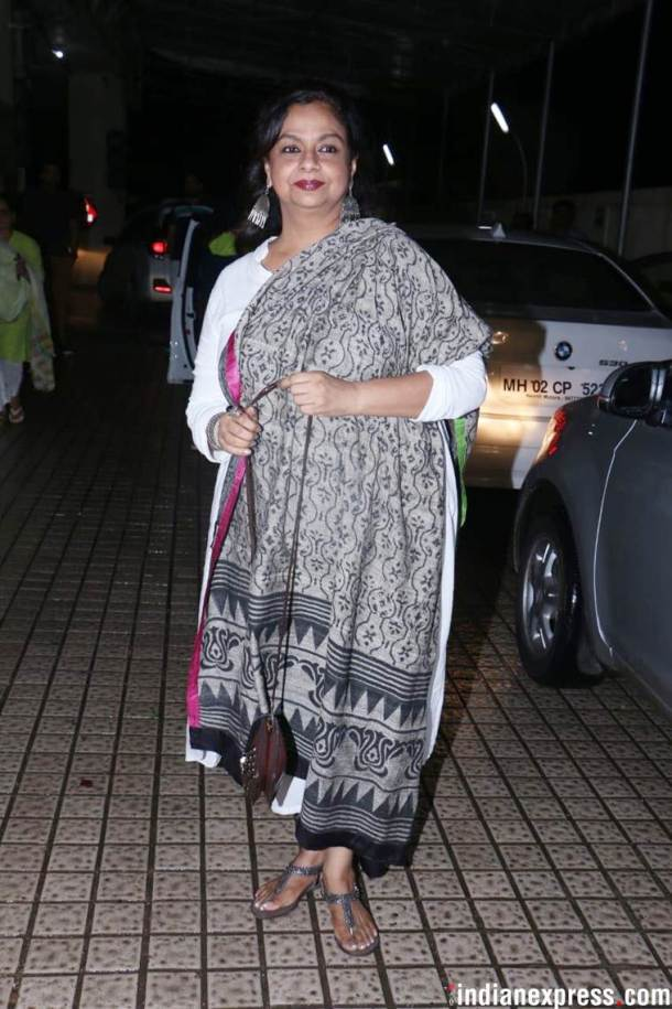 Neelima Azeem at the dhadak screening