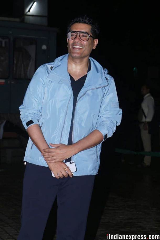 manish malhotra at dhadak screening