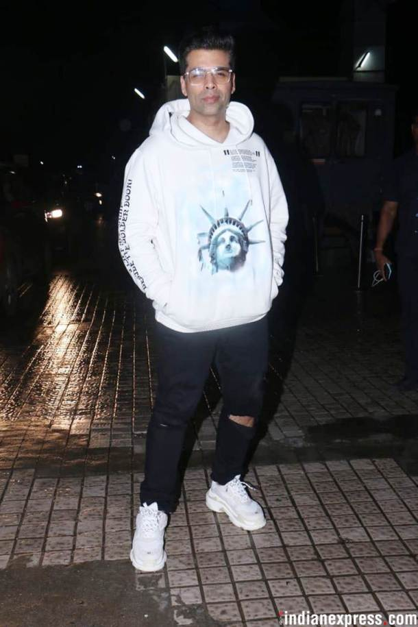 karan johar at the dhadak screening