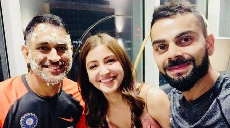 Virat Kohli, Anushka Sharma wish MS Dhoni birthday in adorable post