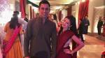 Dhoni attends wedding with Sakshi, Ziva in Mumbai