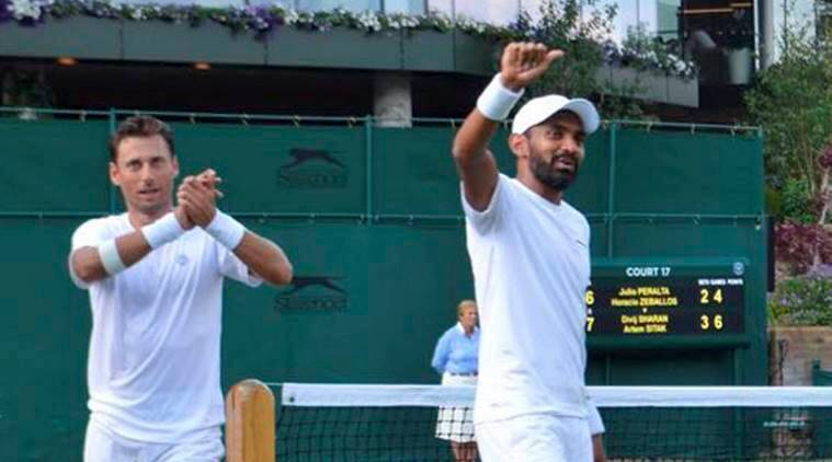 Divij Sharan reaches first ever Grand Slam quarter-final