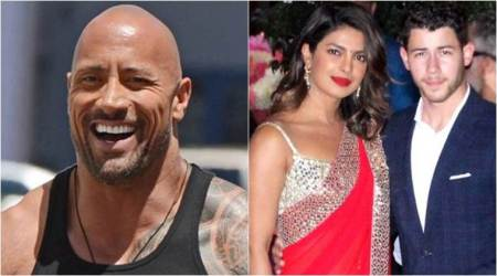 I set up Priyanka Chopra and Nick Jonas: Dwayne Johnson