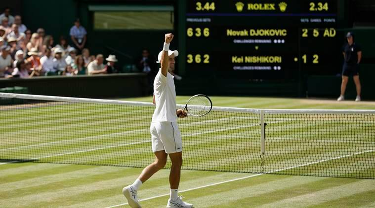 Wimbledon 2018: 'Different' Novak Djokovic books his place in the final four