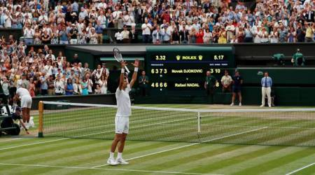 Wimbledon 2018: Novak Djokovic outlasts Rafael Nadal in classic semi-final, to play Anderson in final
