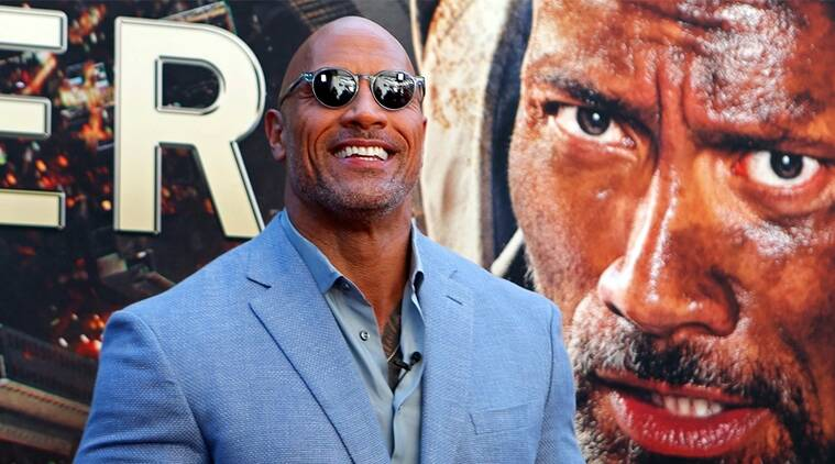 Dwayne Johnson premiere images