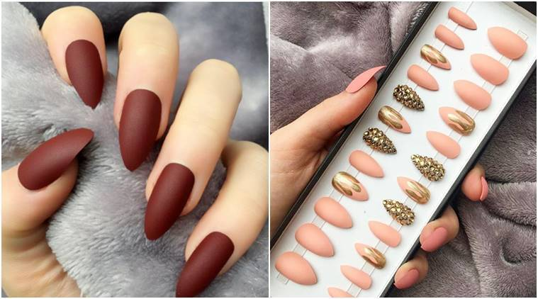 Feeling lazy to paint your nails? These colour-changing fake nails ...