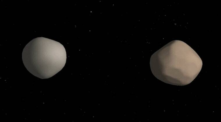 Three of the World's Largest Radio Telescopes Discover Rare Double Asteroid
