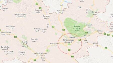 Magnitude 5.8 earthquake hits southeast Iran, fourth temblor in two days