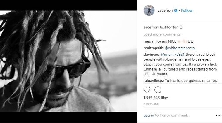 Zac Efron under attack for cultural appropriation