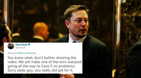 Elon Musk calls man who helped in Thai cave rescue a 'pedo'; garners flak on the Internet