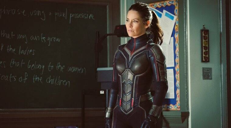 When Ant-Man and the Wasp star Evangeline Lilly got stung by an actual wasp  | Entertainment News,The Indian Express