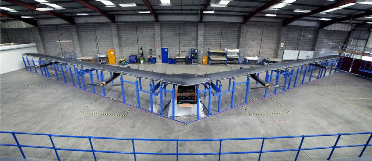 Facebook has discontinued its helicopter drone project