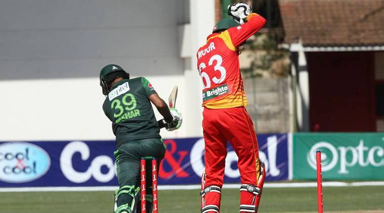 Pakistan vs Zimbabwe, Pak vs Zim, Zimbabwe Pakistan, Fakhar Zaman, Asif Ali, Sarfraz Ahmed, Hamilton Masakadza, sports news, cricket, Indian Express