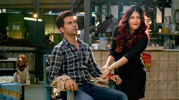 rajkummar rao and aishwarya rai bachchan in fanney khan trailer