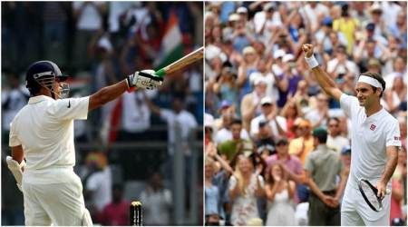 Roger Federer or Sachin Tendulkar? Swiss great emulates SRT at Wimbledon