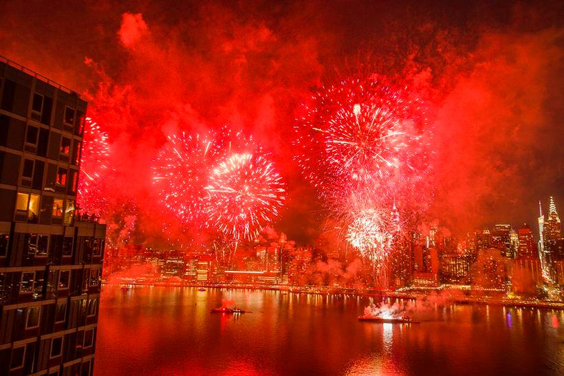 fireworks photos, fourth of july images, us independance day pictures, america, united states, new york firework pics, indian express