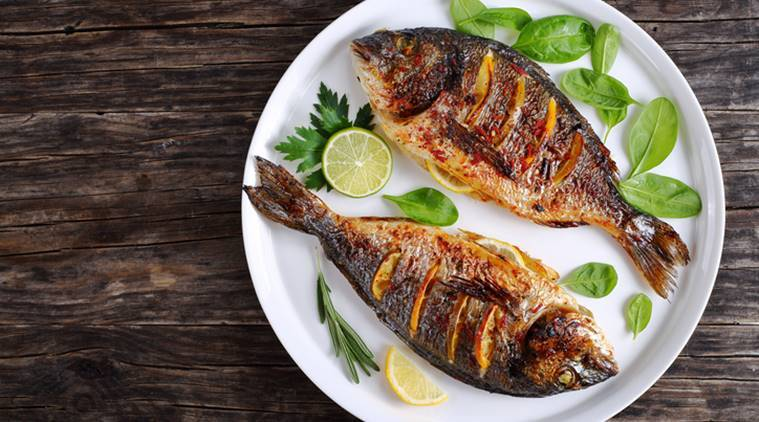fish, sustainable ways of eating fish, what is the right season for eating fish, which fish to eat in july, fish to eat in monsoons, tasty fish to eat, healthy fish to cook in rainy season, indian express, indian express news