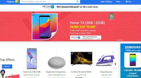 Flipkart Big Shopping Days sale LIVE UPDATES: Apple iPhone X, Google Pixel 2, Redmi Note 5 and more