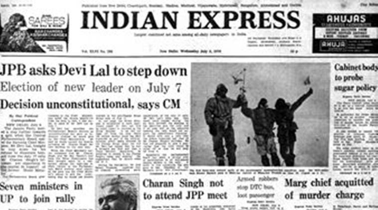 forty years ago, janata party, janata party split, indian politics, haryana chief minister devi lal, charan singh, haryana politics, indian express