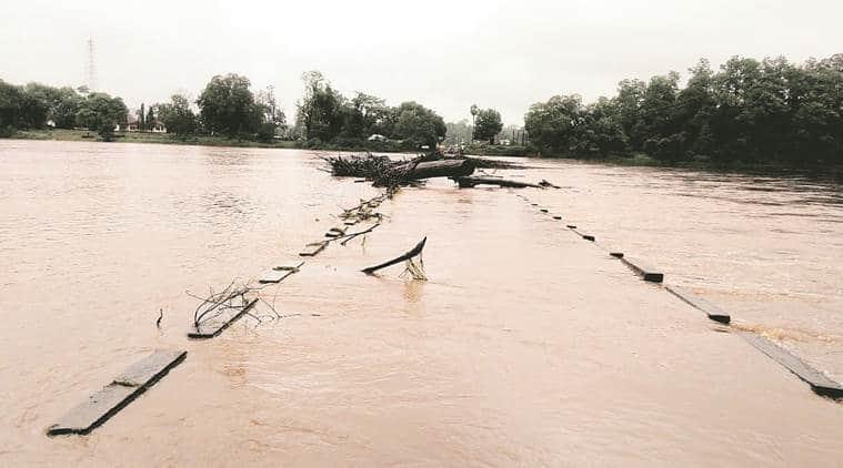Maharashtra: Submerged bridges cut off Gadchiroli villages